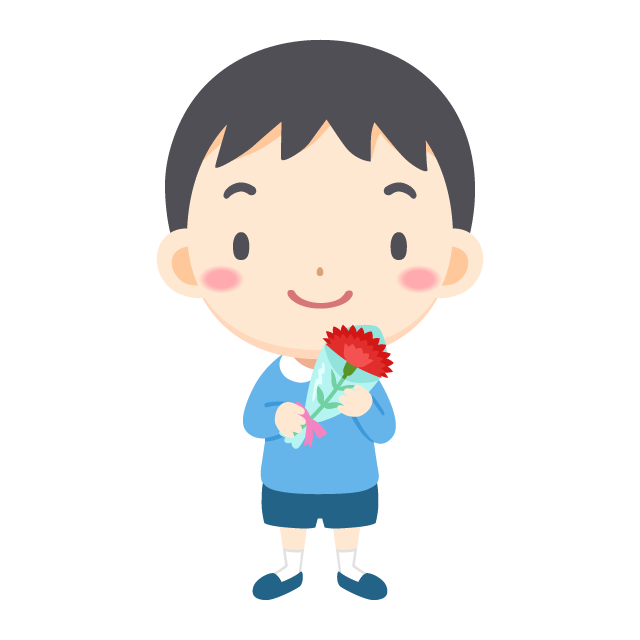 Japanese Mother S Day Boy Carnation Free Png And Vector Picaboo Free Vector Images
