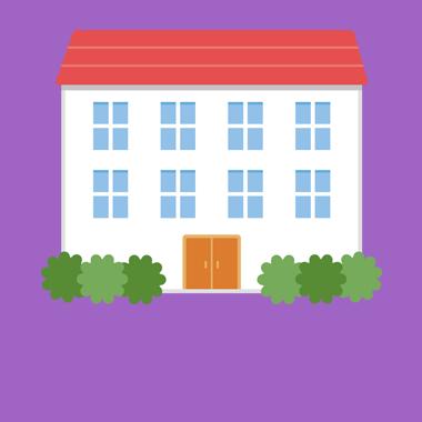 街並み・建物の無料ベクターイラスト素材