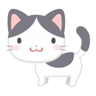 ぶち猫の無料ベクターイラスト素材