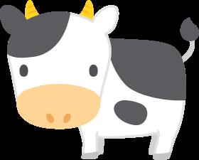 乳牛の無料ベクターイラスト素材