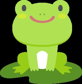 カエルの無料ベクターイラスト素材