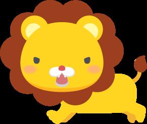 吠えるライオンの無料ベクターイラスト素材