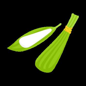 こどもの日・端午の節句に食べたい粽(ちまき)の無料ベクターイラスト素材