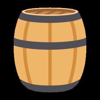 樽の無料ベクターイラスト素材