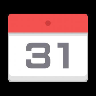 カレンダーの無料ベクターイラスト素材