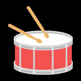小太鼓の無料ベクターイラスト素材