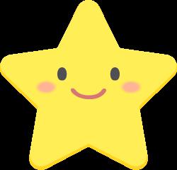 星のキャラクターの無料ベクターイラスト素材