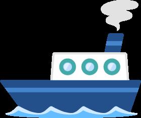 船の無料ベクターイラスト素材