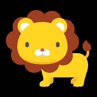 ライオンの無料ベクターイラスト素材