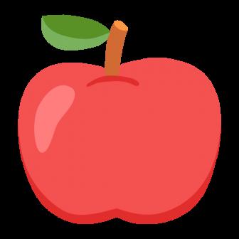 りんごの無料ベクターイラスト素材