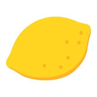 レモンの無料ベクターイラスト素材