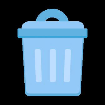 ゴミ箱の無料ベクターイラスト素材