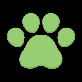 動物の足跡の無料ベクターイラスト素材