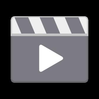 動画再生マークの無料ベクターイラスト素材