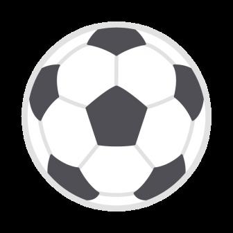 サッカーボールの無料ベクターイラスト素材