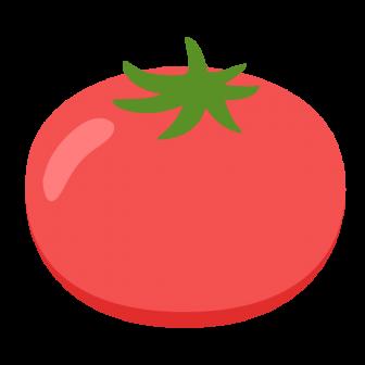 トマトの無料ベクターイラスト素材