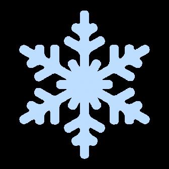 雪の結晶の無料ベクターイラスト素材
